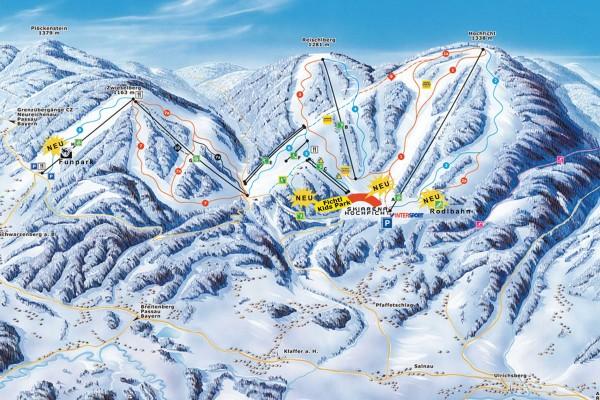 Skiliftverbinding Nova Pec - Hochficht